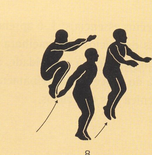 Resultado de imagem para saltos canguru exercicio